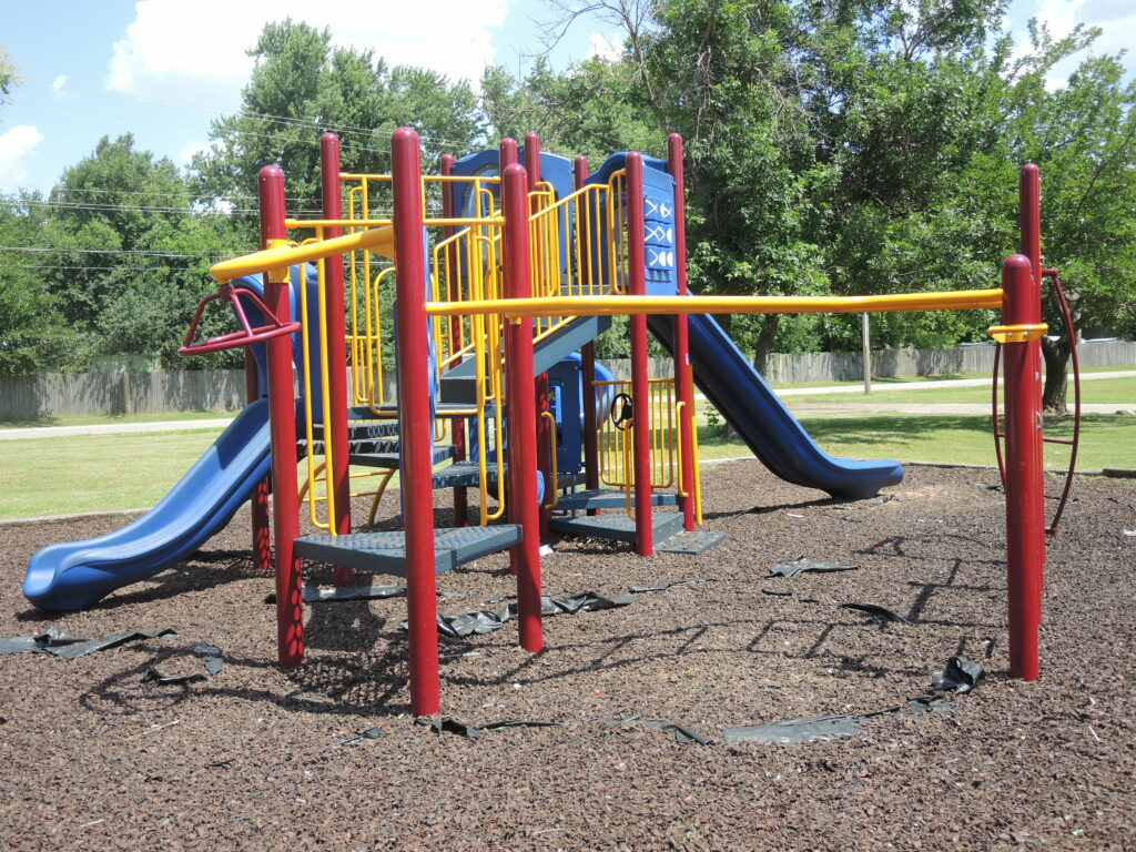 playground bright and great